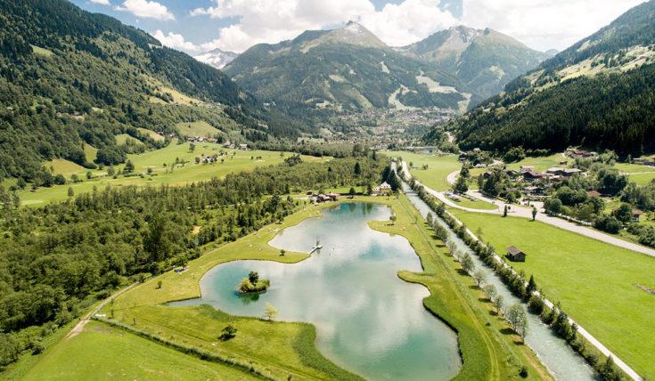 Badesee - Sommerurlaub in Gastein