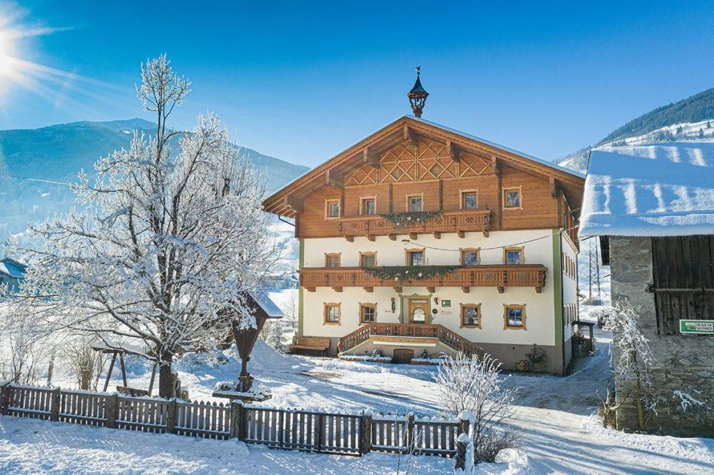 Winter- & Skiurlaub - Familienurlaub am Bauernhof im Gasteinertal