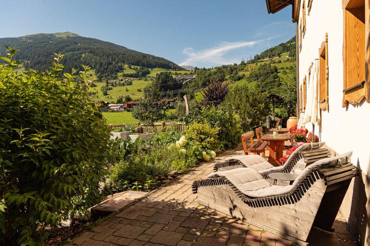Garten - Bauernhofurlaub in Bad Hofgastein