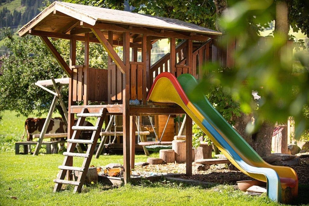 Spielplatz - Bauernhofurlaub in Bad Hofgastein