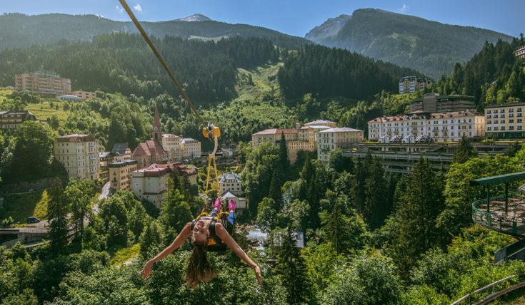 Flying Waters - Sommerurlaub in Gastein