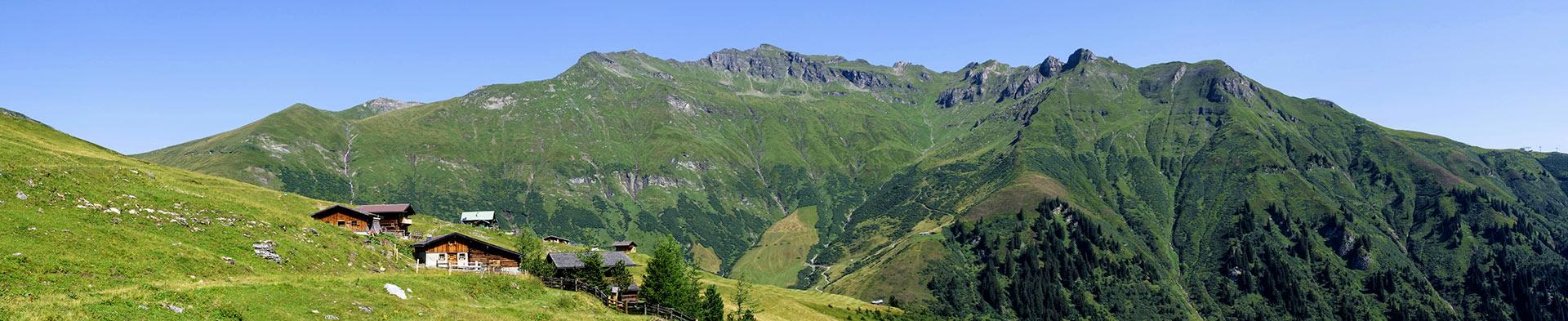 Gadaunerer Hochalm - bewirtschaftete Hütte im Gasteinertal