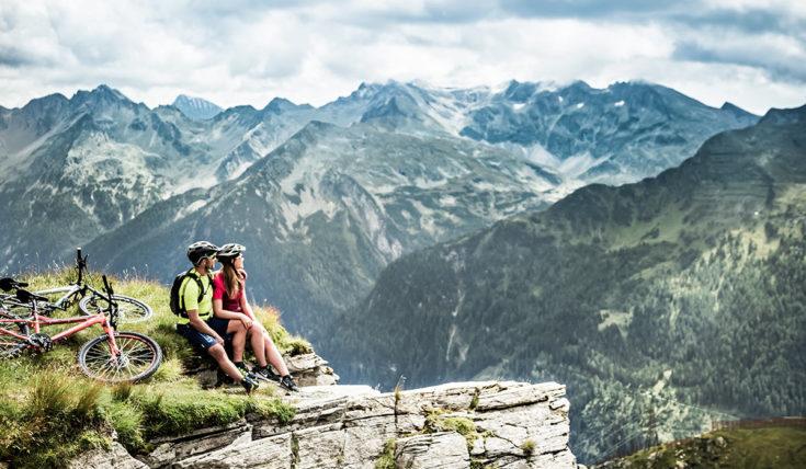 Mountainbiken Sommerurlaub Gastein 1