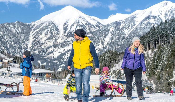 Rodeln - Winterurlaub in Gastein