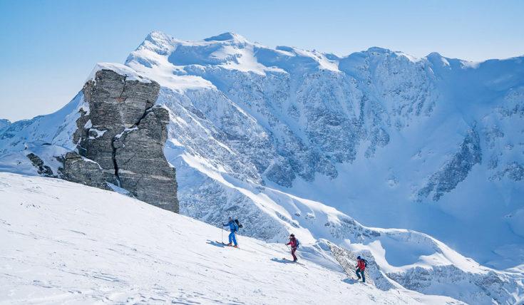Skitouren - Winterurlaub in Gastein